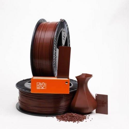 Chestnut brown RAL 8015 PLAQUE