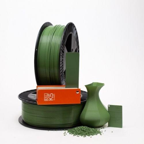Reseda green RAL 6011 _ PLAQUE