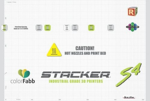 Buildtak for Stacker S4